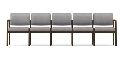 Lenox Open Arm 5-Seat Sofa without center arms