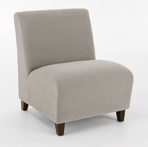 Siena Oversized Armless Guest Chair