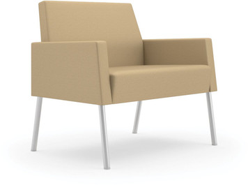 Mystic Lounge Panel Arm Bariatric Guest Chair