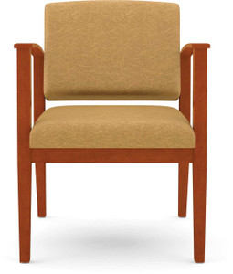 Amherst Wood Guest Chair front view