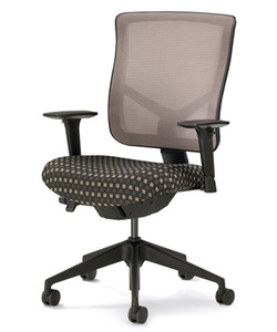 Silver Mesh Back Special Order Seat