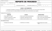 Progress Report, 4 Part (PR1-SPANISH)