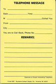 Telephone Message Pad - Large (M81)