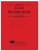Class Record Book, 10 Subject, Green Text (910-10LGN)