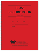 Class Record Book - 8-Subject, 6-Week (76 series) (76-8)