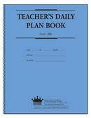 Teachers Plan Book 8 Subject, Large (488)
