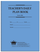 Teachers Daily Plan Book 6 Subject (466)