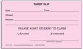 Tardy Slips (196)