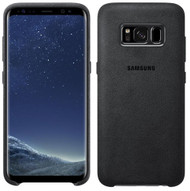 Samsung Alcantara Cover for Samsung Galaxy S8 - Grey (EF-XG950ASEG)