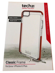 Tech21 Classic Frame Case for iPhone 6 Plus/6S Plus - Clear (T21-4287)