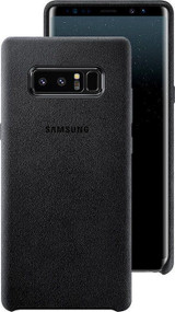 Samsung Galaxy Note 8 Alcantara Cover Case - Black (EF-XN950ABEG)