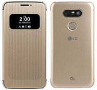 Genuine LG Mesh Folio View Cover Case for LG G5 - Gold