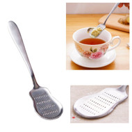 SSLD Stainless Steel Spoon Grater for Fresh Ginger Tea/Lemon Zest/Garlic/Chilli