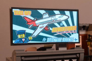 Brickstuff Brickville Airlines Animated Billboard - KIT23-BA
