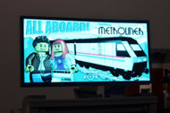 Brickstuff Bricktrak Metroliner Animated Billboard  - KIT23-MT