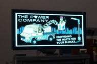 Brickstuff Brickville Power Company Animated Billboard - KIT23-PC