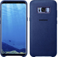 Genuine Samsung Alcantara Cover Case for Samsung Galaxy S8+ / S8 Plus - Blue (EF-XG955ALEGWW)