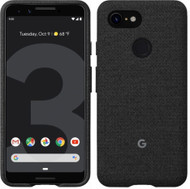 Official Google Pixel 3 Fabric Case Cover - Carbon (GA00486)