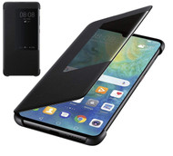 Official Huawei Mate 20 Smart View Flip Cover - Black - 51992621
