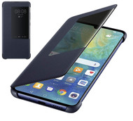 Official Huawei Mate 20 Smart View Flip Cover - Blue - 51992605