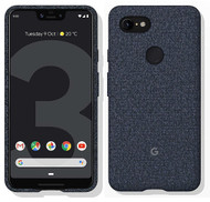 Official Google Pixel 3 XL Fabric Case Cover - Indigo (GA00496)