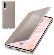 Genuine Official Huawei P30 Smart View Flip Cover - Khaki (51992864)