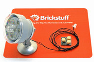 Brickstuff Custom 6-LED Searchlight for LEGO® Models - KIT03