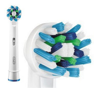 Genuine Original Oral-B CrossAction Electric Toothbrush Replacement Heads Powered by Braun