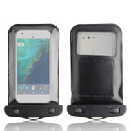 InventCase Waterproof Dustproof Bag Protective Case Cover for Google Pixel - Black