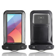 InventCase Waterproof Dustproof Bag Protective Case Cover for LG G6 2017 - Black