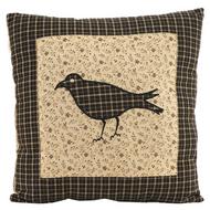 Kettle Grove Pillow Crow 10x10