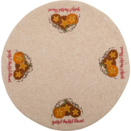 Grateful Thankful Blessed Nutmeg Candle Mat