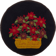 Ever Blessed Black Candle Mat