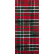 Festive Flannel Red Towel