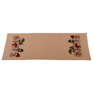 Family of 5 Nutmeg Table Runner