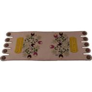 Spring Bouquet Nutmeg Table Runner