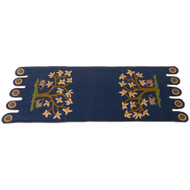 Grazing Sheep Colonial Blue Table Runner