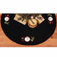 Joy Black Tree Skirt