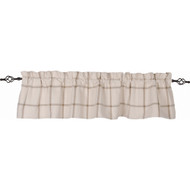 Bexley Check Cream - Oat Valance