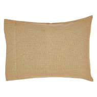 Burlap Natural Pillow Case Set of 2 21x30