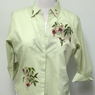 Feeding Hummingbird 3/4 Sleeve Shirt