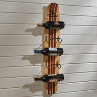 WOOD WATER SKI WINE RACK