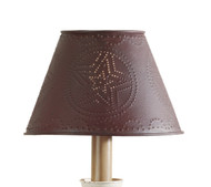 "METAL STAR SHADE 10"" RED"