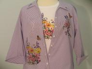 Wildflower II 3/4 Sleeve Shirt