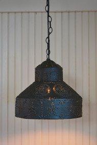 PUNCHED STAR PENDANT LIGHT