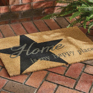 HOME IS MY HAPPY PLACE DOORMAT