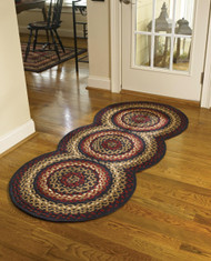 FOLK ART BRD RUG RUN 30X72