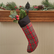 PINECONE STOCKING HANGER IRON