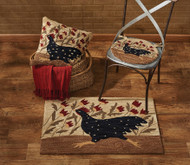 CHICKEN RUN HOOKED CHAIR PAD