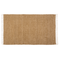 Burlap Natural Chindi/Rag Rug 36x60